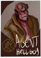 Hellboy by Faded-Spaceman