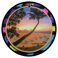 Tropical Sunset by MadXStitcher