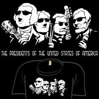 Presidents of the USA by amegoddess