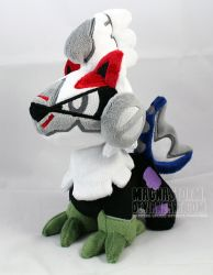 Silvally pokedoll by MagnaStorm