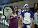 Butterfree and Snorlax by MariSanomaFanFic