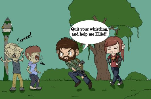 Ellie makes to much noise... by gamerman77