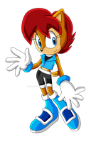 Sonic X - Sally Redesign by Sonicguru