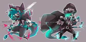 Second adoptable auction - Sword dragons (closed) by Rheliant