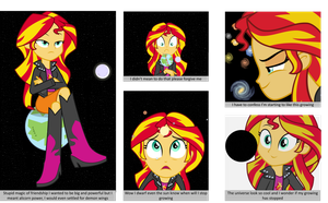 Sunset Shimmer Rise To Power 1/2 by trohobo