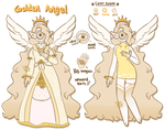 Golden Angel Xynthii [CLOSED] by hello-planet-chan