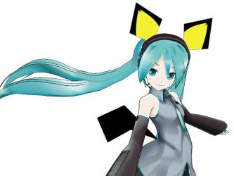 MMD- Pichu Set- DOWNLOAD by MMDFakewings18