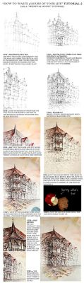 Medieval House Tutorial by GrimDreamArt
