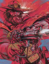 McCree RED by ChrisVisions