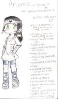 Artemis Bio by shadowpiratemonkey7