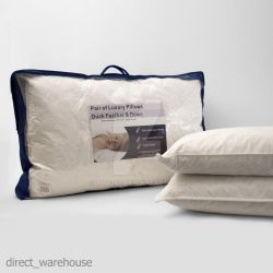 Duck Feather And Down Pillows Comfortable by 3545247