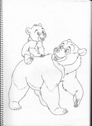 Brother Bear by Pepples93