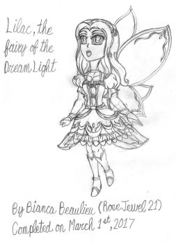 Lilac, Fairy of the Dream Light by RoseJewel21