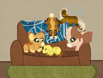 What is this yellow thing on my couch by Oak-Storm