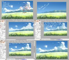 how to paint clouds digitally by mano-k