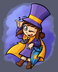 Ultimate Hat Kid by The-Quill-Warrior