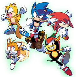 Sonic Mania Plus Ultra! by WaniRamirez