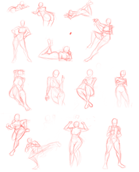 Poses :please critique: by Tigerslam