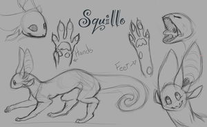 Squillo Species (OLD VERSION) by mickleo