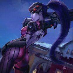 No one can hide from my sights widowmaker tg by Enderzone20024