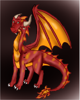 Pheonix the dragon by Cianna200