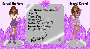 Ashley Williams Application {CDA} by TheCherryMonsterLu