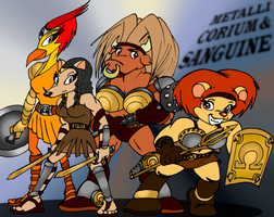 The Omega Gladiatrices by RalfTheRalfMan