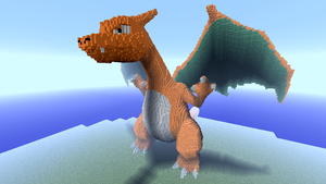 Minecraft - Charizard by Ludolik