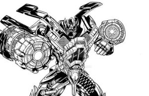Ironhide : Dotm by 1314