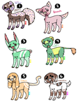 OPEN - Ice cream Adopts by Heccing-Adopts