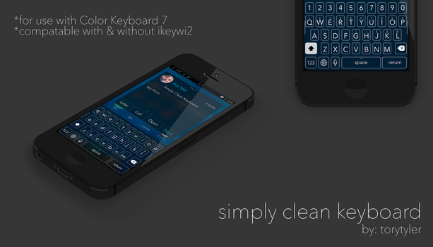 Simply Clean Keyboard by torytyler
