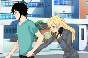 Percabeth First Date by kameo021