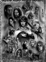 Lord of the rings by JAF-Artwork