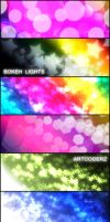 Bokeh Lights Brushes by artcoderz