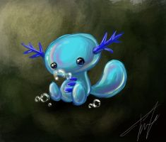 Wooper by SilverVanadis
