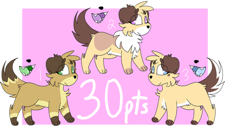 puppies (CLOSED) by purpletaco3
