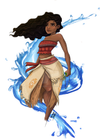 Moana by DementedPirate