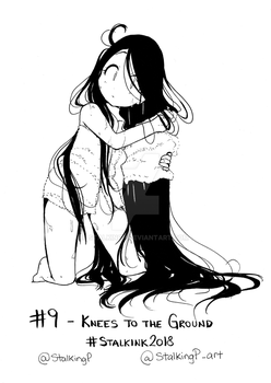 STALKINK2018 - DAY 09 [KNEES TO THE FLOOR]