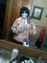 Jeff the Killer Halloween Cosplay by Ruby-Night
