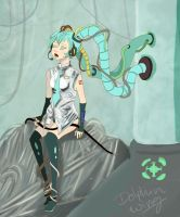 Hatsune Miku Wired by dollphinwing