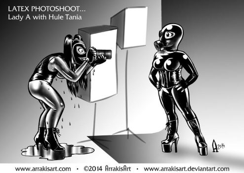 T and A photoshoot 2014 by arrakisart