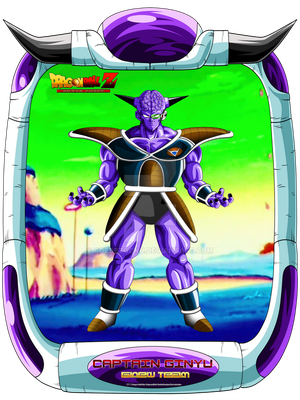 DBCU Captain Ginyu by cdzdbzGOKU