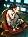 L - Death Note by GENZOMAN