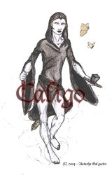 Caligo, the warrior by tachita