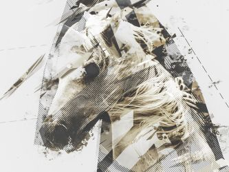 horse - PS ActionScript Geometric Dispersion FX by Giallo86