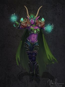 Ysera the Dreamer by megillakitty