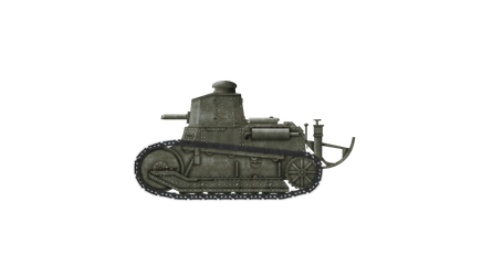 [FAKE] Light Tank - Fiat 3000A L5/17 by Escodrion