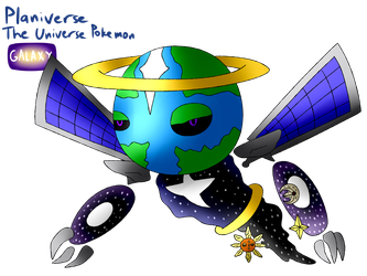 Pokemon In Space - Planiverse by TipsyRa1d3n