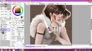 WIP Mononoke Hime by TheDody36