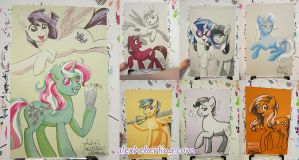TrotCon 2013 Sketch Card Commissions by alex-heberling